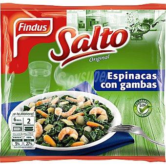 Findus Espinacas con gambas Bolsa 500 g