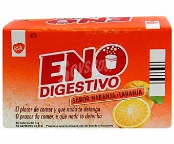 ENO Digestivo sabor naranja 12 Sobres 70 Gramos
