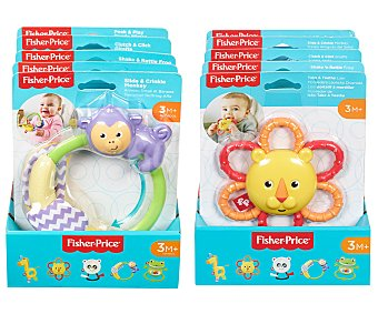 Fisher-Price Surtido sonajeros Animalitos del safari, Price.