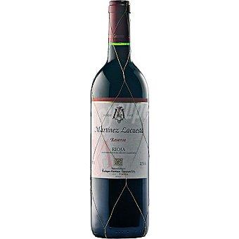 Martínez Lacuesta Vino tinto reserva D.O. Rioja Botella 75 cl