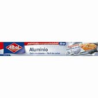 Albal Papel de aluminio doméstico reforzado Rollo 30 m