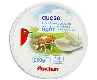 Auchan Queso en porciones light light 16 uds