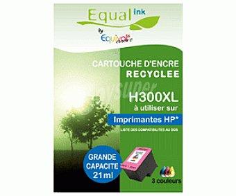 Equalink Cartuchos Reciclados de Tinta H300XL Tricolor 1u