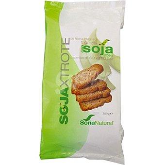 Soria Natural pan tostado de trigo con soja y sésamo  Sojaxtrote envase 300 g