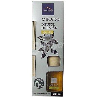 CASACTUAL Mikado Ambientador en varillas aromáticas Vainilla 100 ml