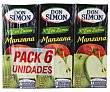Zumo de manzana con vitamina C Pack 6x20 cl Don Simón