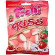 Kiss caramelos de goma sabor fresa sin gluten bolsa 100 g bolsa 100 g Trolli