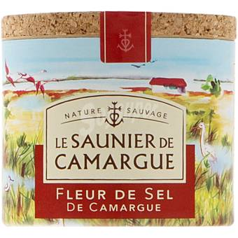 LE SAUNIER DE CAMARGUE Flor de Sal Bote 125 g