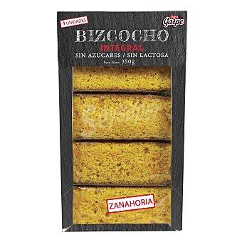 Garpe Bizcocho de zanahoria integral sin azúcar añadido sin lactosa 350 g