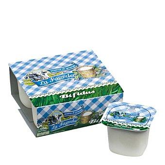 La Fageda Yogur Bífidus natural Pack de 4x125 g