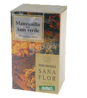 Santiveri Infusión sanaflor manzana / anís 26 g
