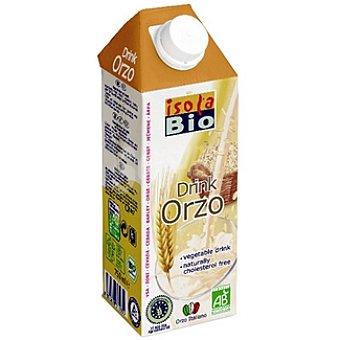 Isolabio Qbio Bebida de cebada ecológica Envase 750 ml