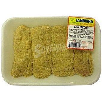 Jambrina San Jacobos de jamón y queso peso aproximado Bandeja 350 g
