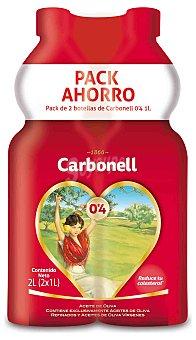 Carbonell Aceite de oliva 0,4 Pack 2x1 l