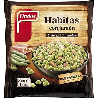 Findus Tradicionales habitas con jamón Verdeliss Bolsa 230 g