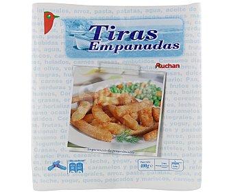 Auchan Tiras empanadas 400 gramos