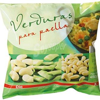 DIA Verduras para paella Bolsa 450 gr