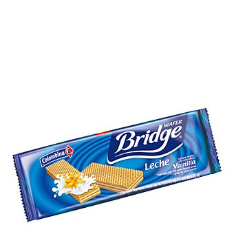 Colombina Galletas wafer bridge vainilla 175 g