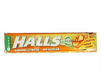 Halls Caramelos duros sabor cítricos Paquete 32 g