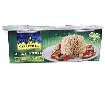 Carretilla Arros integral vasitos 2 unidades de 125 gramos