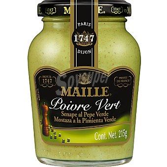Maille Mostaza francesa a la pimienta verde Tarro 215 g