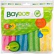 Bayeta multiusos microfibra Paquete 3 unidades Bayeco