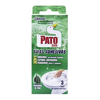 Pato Tiras adhesivas pino Envase de 3 ud
