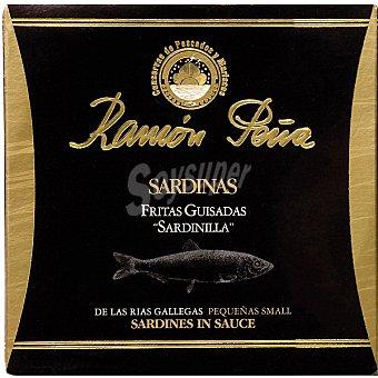 Ramón Peña Sardinas fritas guisadas de las Rías Gallegas lata 100 g neto escurrido lata 100 g neto escurrido
