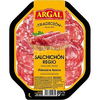 Argal al plata salchichón regio  envase 75 g