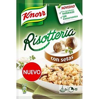 Knorr Preparado para cocinar risotto con setas Risotteria Envase 175 g