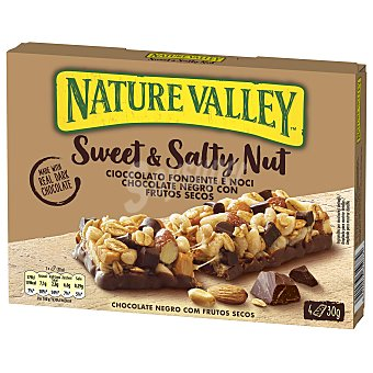 Nature Valley Barritas sweet and salty dark choco nature valley 4 x 30 g
