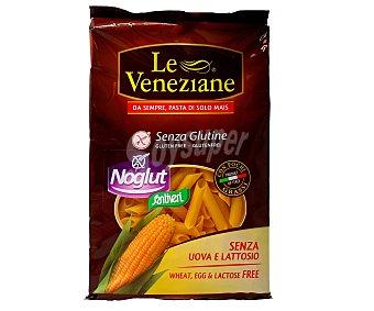 LE VENEZIANE Macarrones, pasta de máiz sin gluten 250 gramos