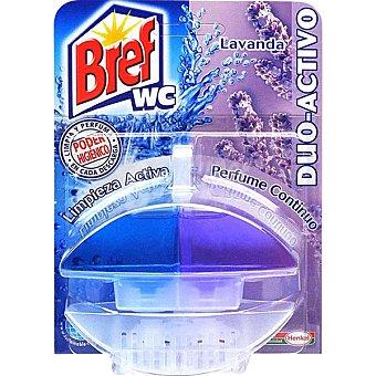Bref WC Desinfectante WC dúo activo lavanda y flor de loto aparato + recambio