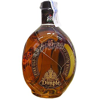 Dimple Whisky escocés reserva 15 años botella 70 cl 70 cl