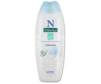 Palmolive Gel de baño o ducha en crema hidratante con proteínas puras de la leche 600 mililitros
