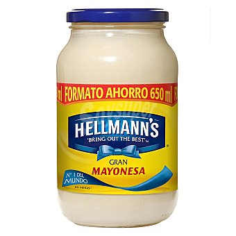 Hellmann's Salsa mayonesa Frasco de 650 ml