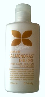 Deliplus Aceite corporal almendras dulces Botella 150 cc