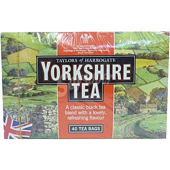YORKSHIRE TEA Mezcla de té negro 40 unidades caja 125 g 40 unidades 125 g