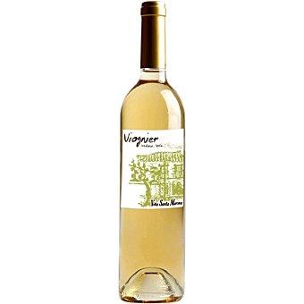 Viña Santa Marina Vino blanco viognier vendimia tardía de Extremadura botella 50 cl botella 50 cl