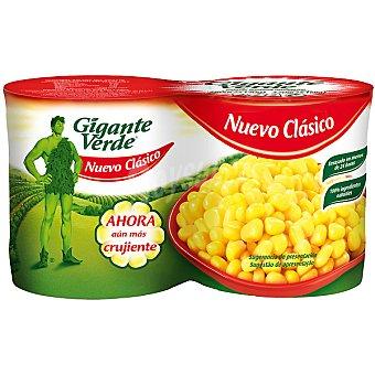 Gigante Verde Maíz dulce en grano neto escurrido Pack 2 latas 140 g