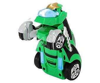 Transformers Coche Transformers con sonidos, 15 centímetros de largo, Grimlock Warrior 1 unidad