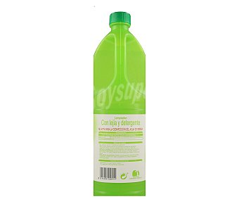 Auchan Limpiador Detergente Lejía Frescor Limón 2 Litros