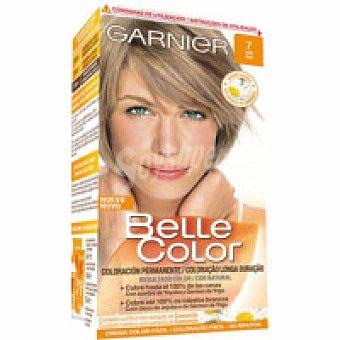 Belle Color Garnier Tinte marrón claro caoba N.6.25 Caja 1 unid