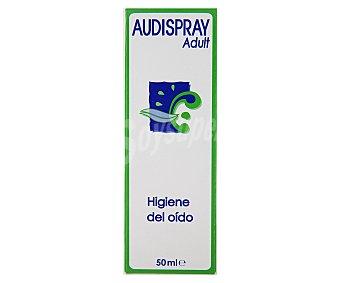 AUDISPRAY Solución de agua de mar en spray especial para la limpieza del oído 50 mililitros