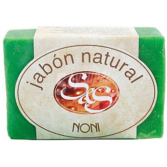S&S pastilla de jabón natural de Noni pastilla 100 g