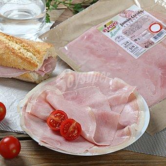 ElPozo Jamón cocido artesano sin fosfatos Envase de 250.0 g.