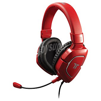 Tritton Auriculares Ax 180 Rojo para Xbox 360/Ps3/Wii U/Pc/Mac/Ps4 1 Unidad