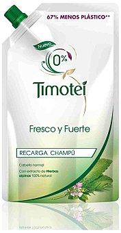 Timotei Recarga de Champú Fresco y Fuerte para cabellos normales 500 ml