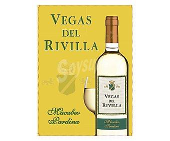 Vegas del Rivilla Vino blanco de mesa en bidón 3 l