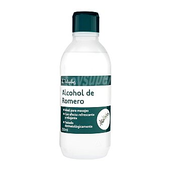 Deliplus Alcohol de romero (ideal para masajes) Botella de 250 cc